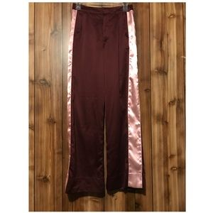 Abercrombie & Fitch silk pants